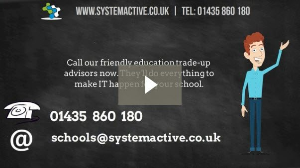 trade-up-your-old-school-computers with SystemActive and HP