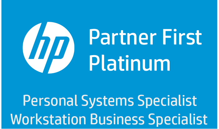 HP Platinum Partner First Logo