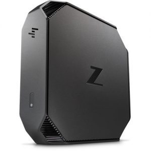 HP Z2 Mini Workstation standing vertically