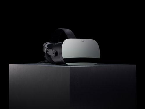 Vario VR-1 on presentation plinth