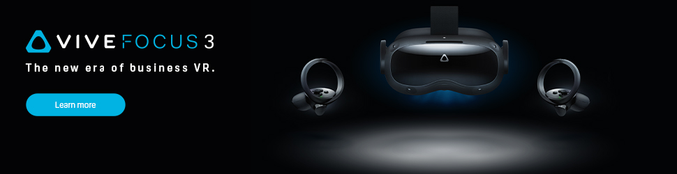 SystemActive HTC Vive Focus 3 Pre-order banner