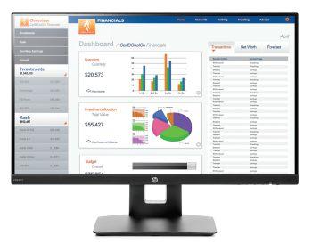 """HP VH240a 60.45 cm (23.8"""") Monitor"""